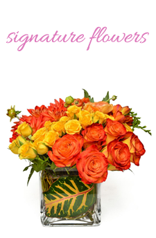Signature Flowers from Apples to Zinnias