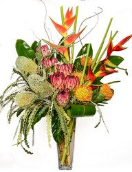 Tropical from Apples to Zinnias, the Gifted Florist in Dallas, Texas