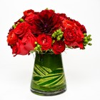 Classic Reds from Apples to Zinnias, the Gifted Florist in Dallas, Texas