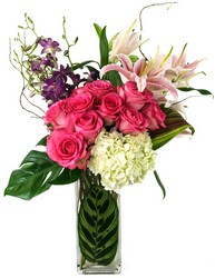 Classic Tall Mixed Fun from Apples to Zinnias, the Gifted Florist in Dallas, Texas