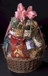 Gourmet Basket - Heart Healthy from Apples to Zinnias, the Gifted Florist in Dallas, Texas