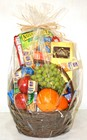 Gourmet Basket - Fruit and Chocolates from Apples to Zinnias, the Gifted Florist in Dallas, Texas