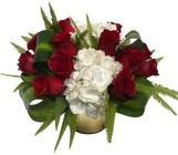 Traditional Dozen Red Roses Pave from Apples to Zinnias, the Gifted Florist in Dallas, Texas