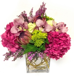 Romance from Apples to Zinnias, the Gifted Florist in Dallas, Texas