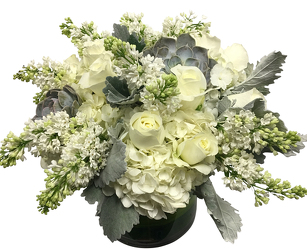 White Abundance from Apples to Zinnias, the Gifted Florist in Dallas, Texas